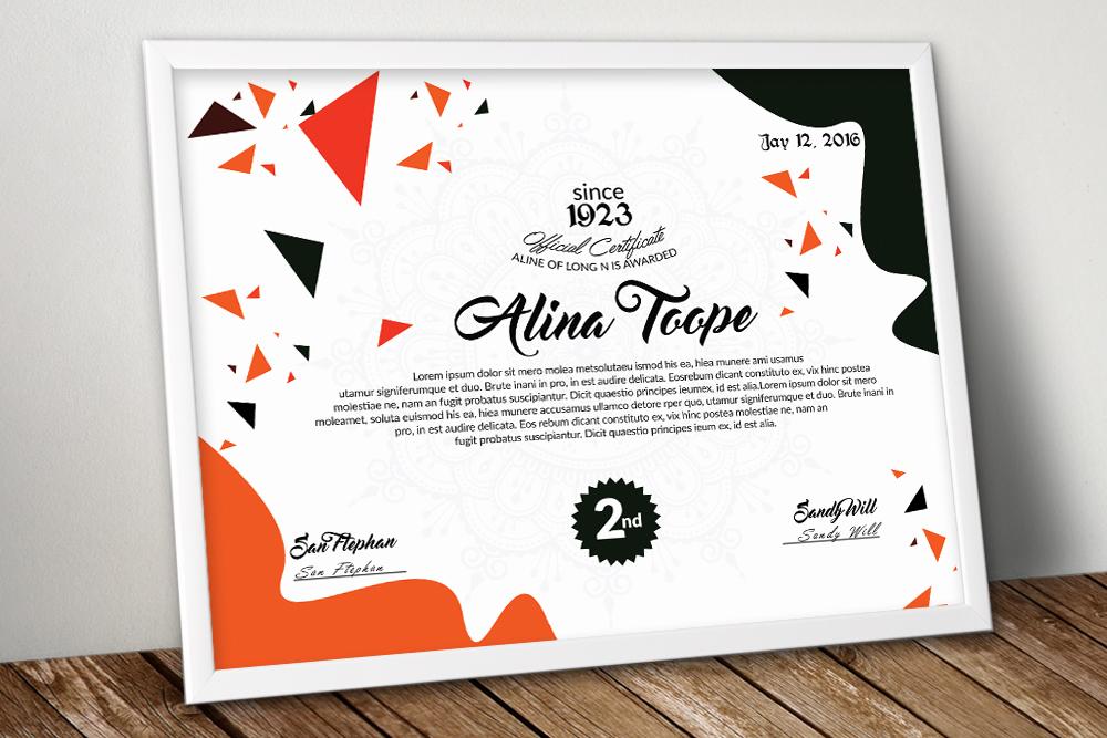 10 Certificates Template Bundle example image 11
