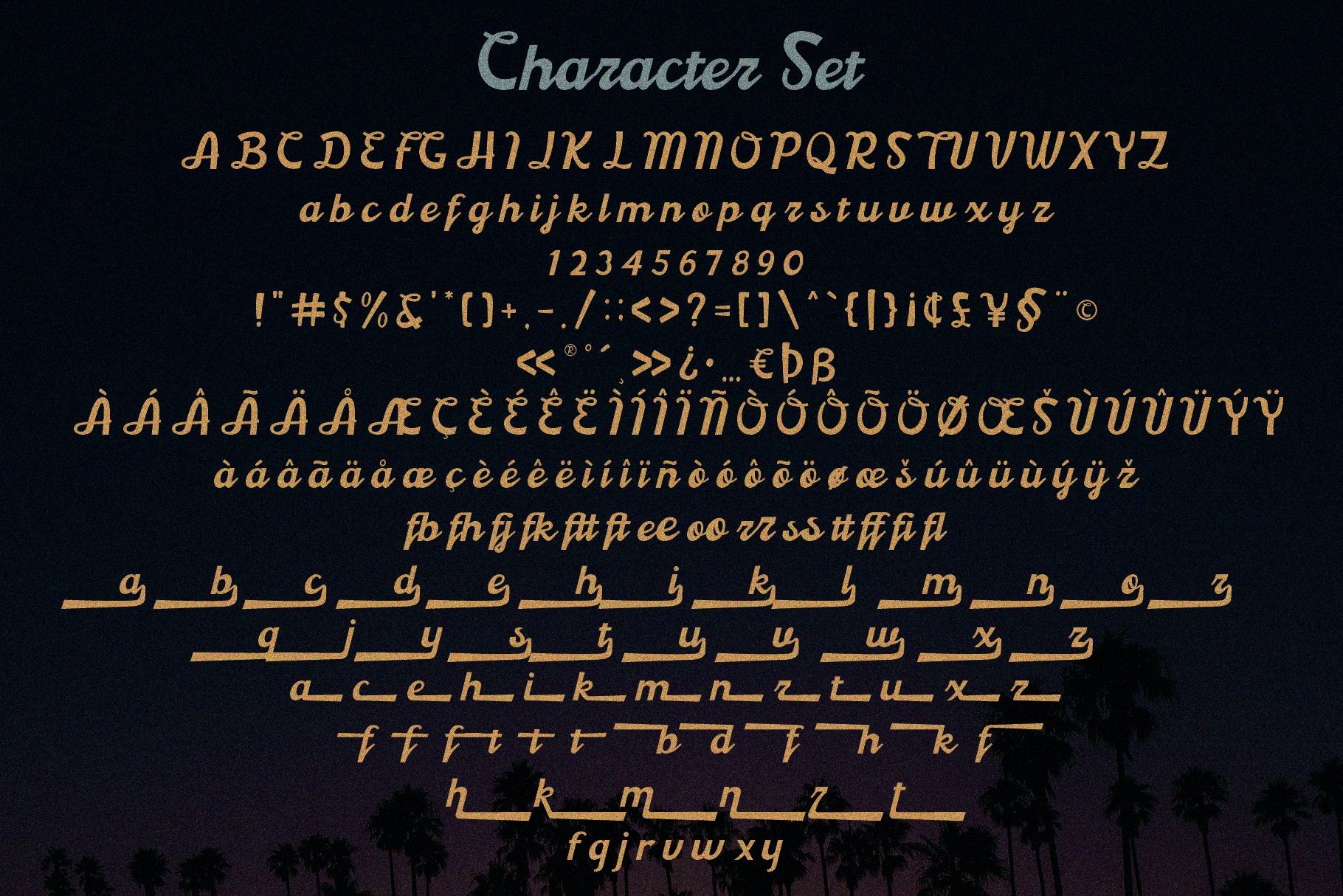 Boardley Script - Layered Font example image 8