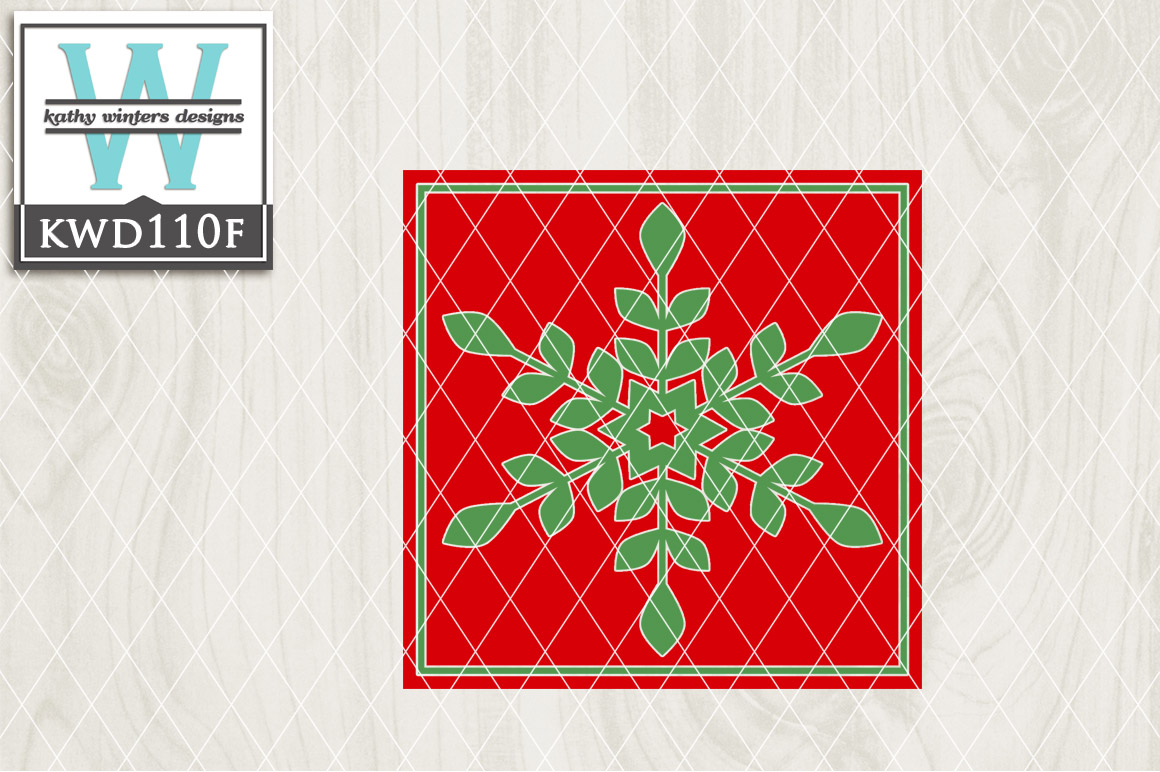Christmas Cutting File KWD110F example image 1