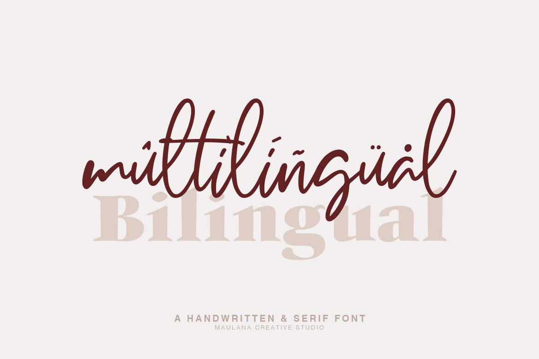 Millton - Font Duo example image 3