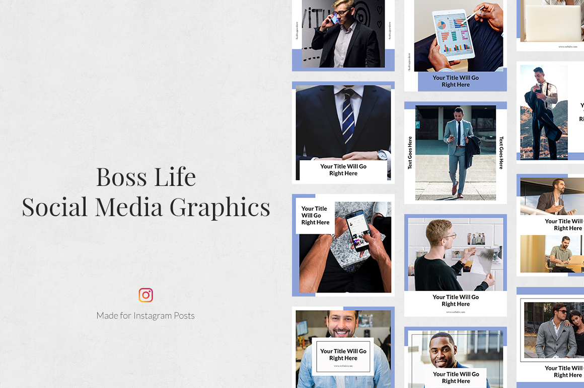 Boss Life Instagram Posts example image 1