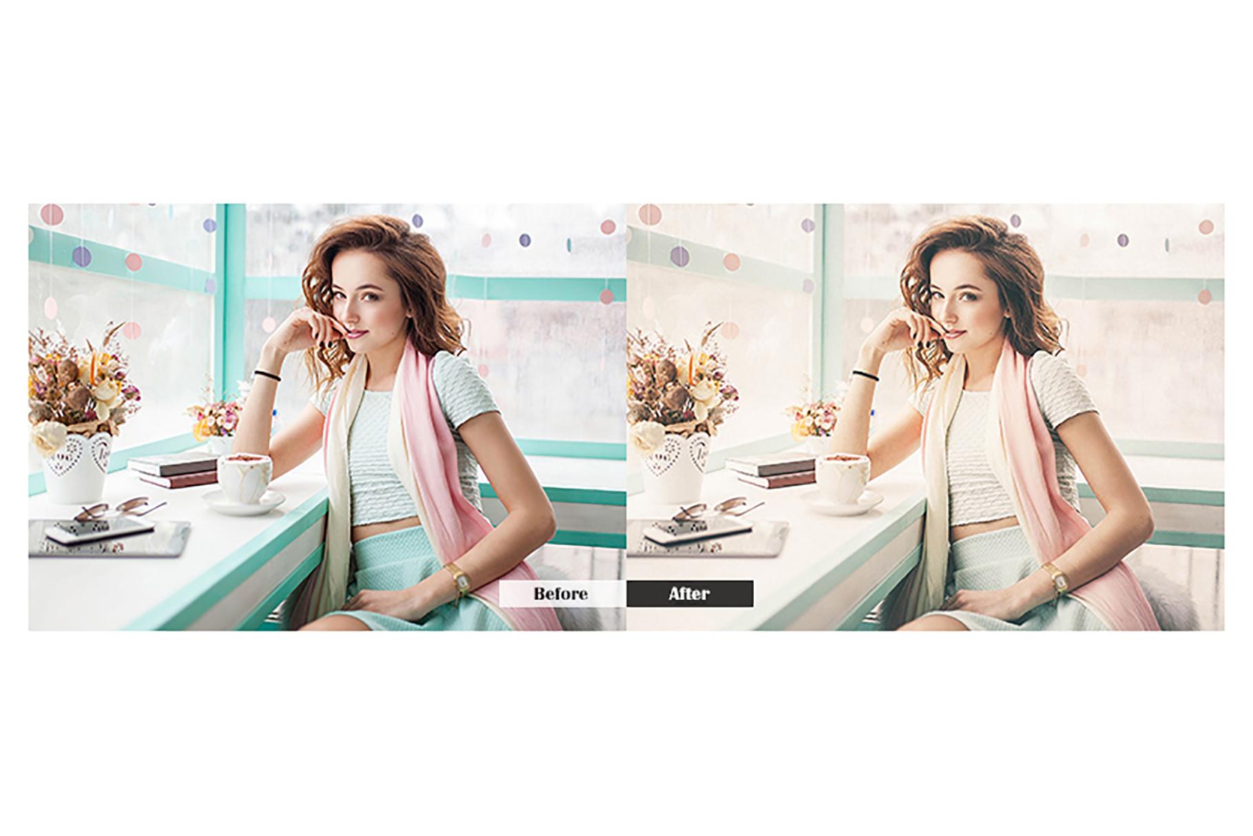 Fashion Magazine Lightroom Mobile Presets example image 2