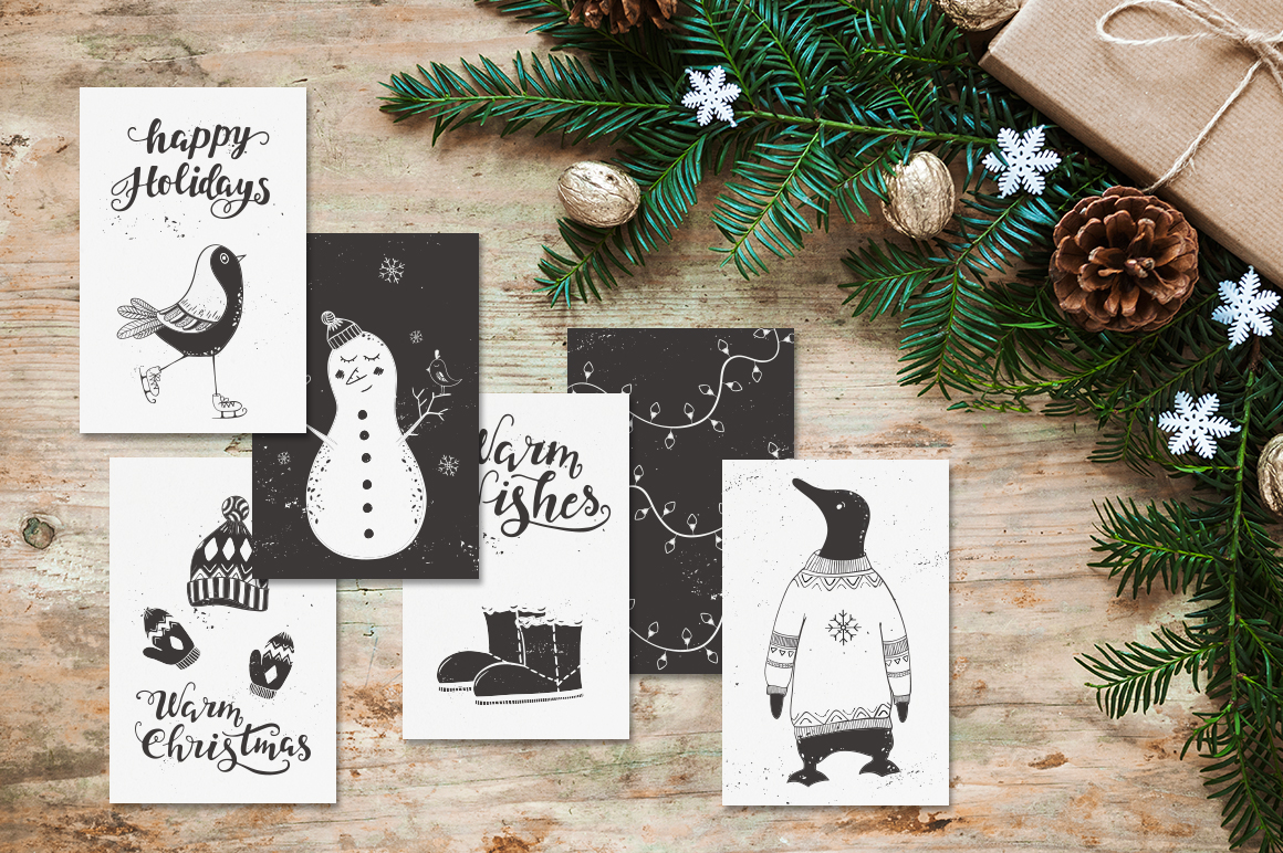72 Christmas cards example image 7