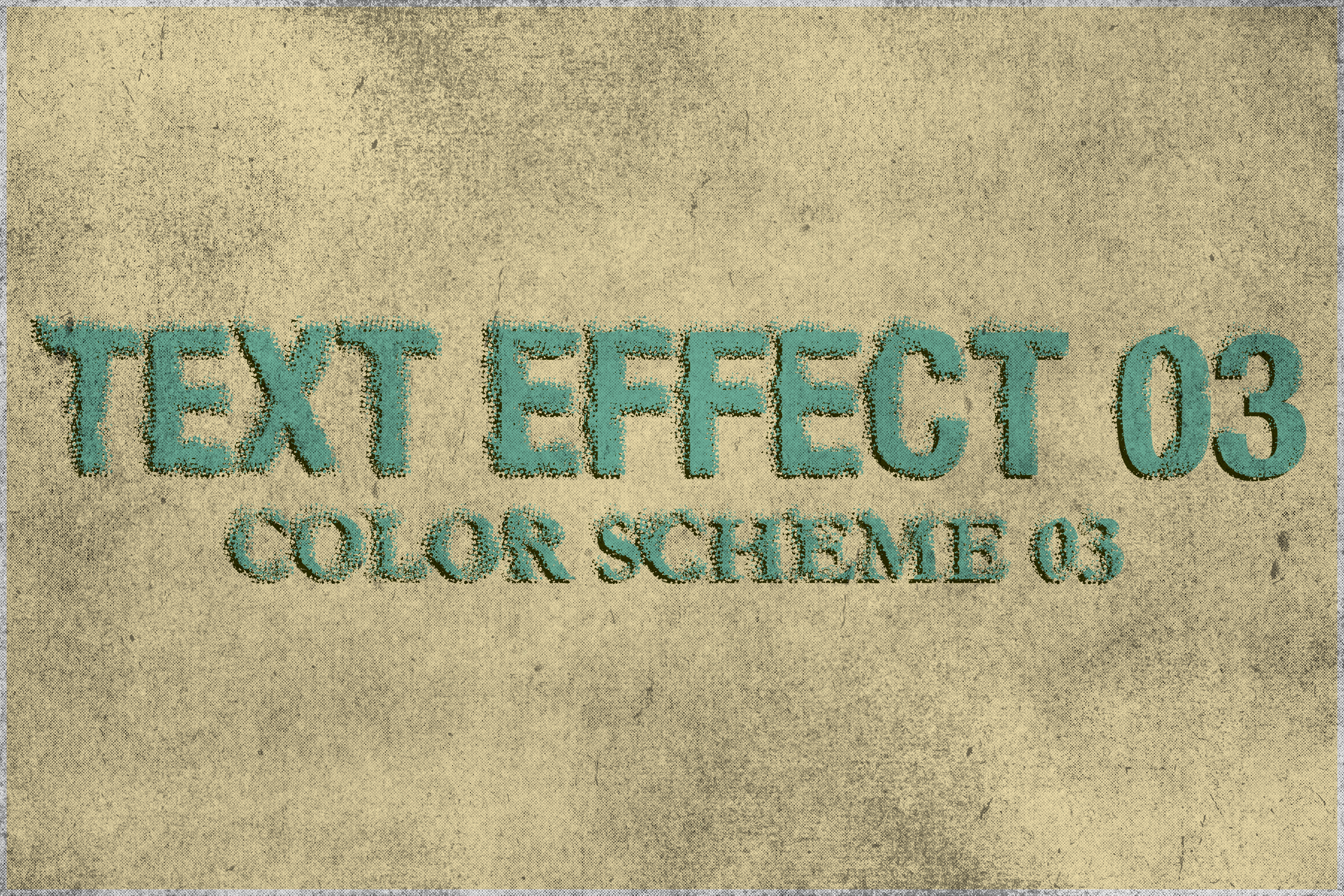 Corrosion - Vintage Text Effect example image 4