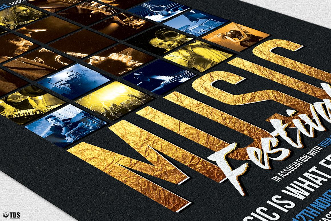 Live Band Flyer Bundle V2 example image 11