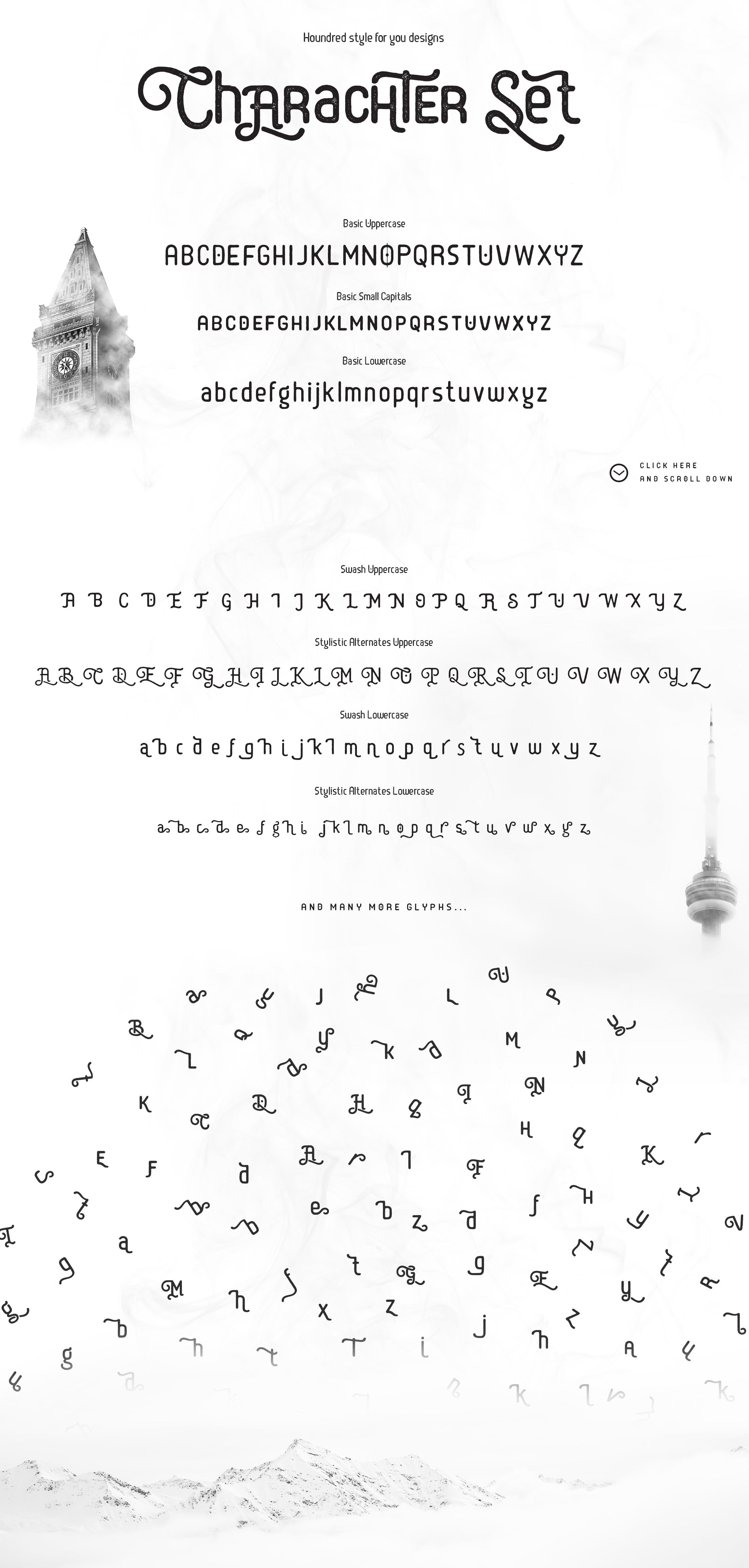 Batriysh Typeface example image 12