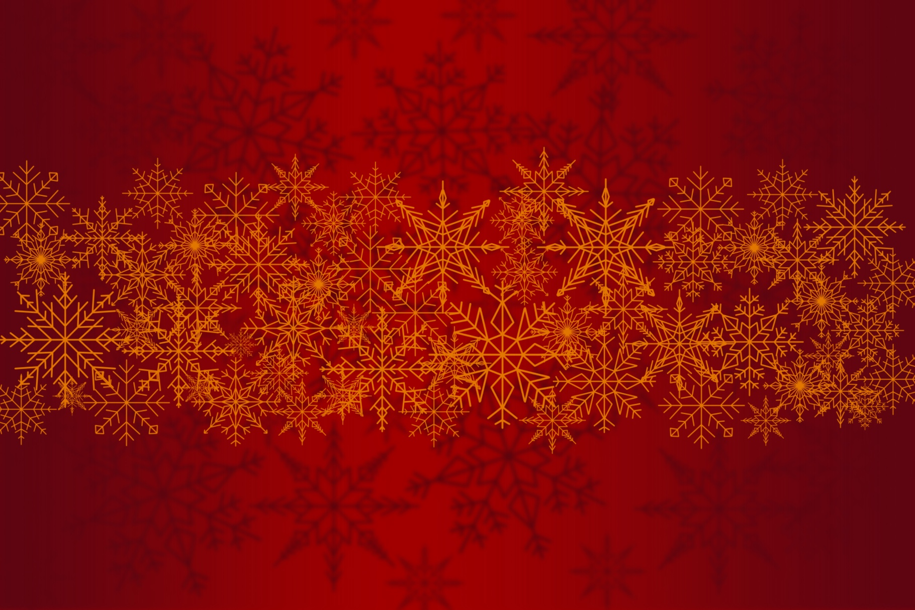Snowflakes Brush Set - for Procreate example image 4