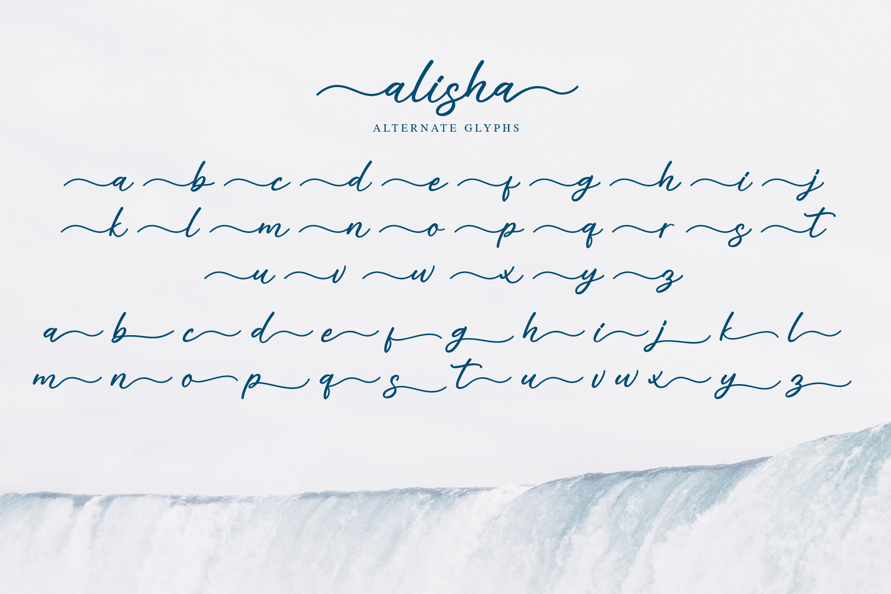 Alisha - Sweet Calligraphy Font example image 8