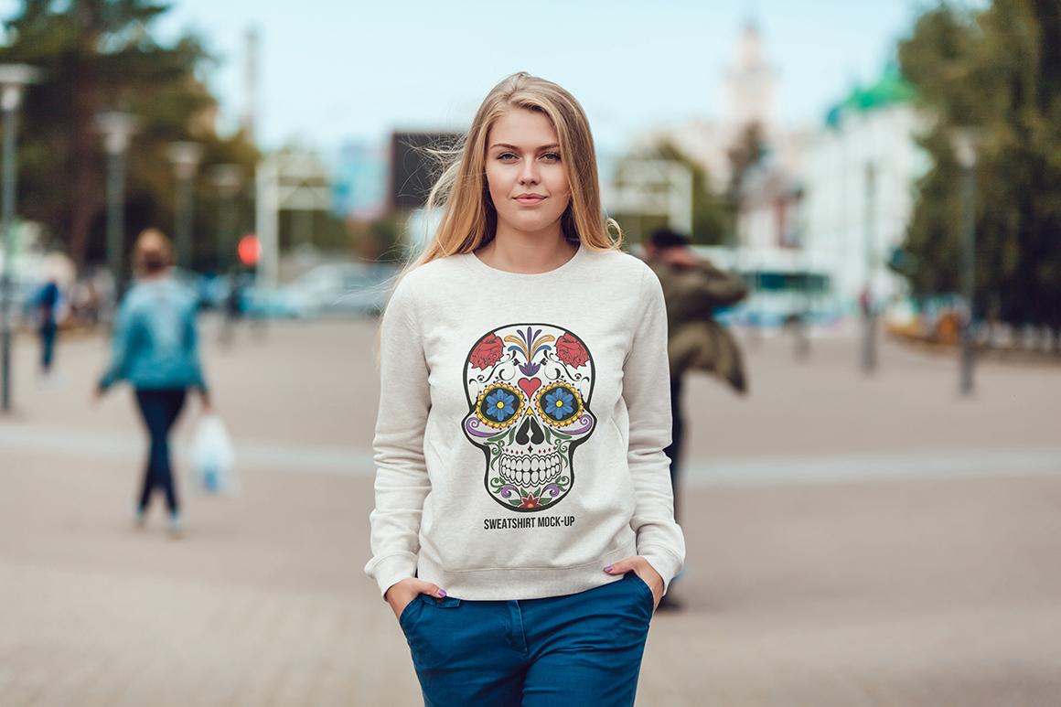 Sweatshirt Mock-Up Vol. 1 example image 14