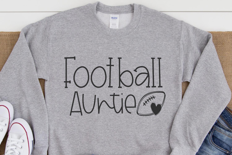 Football - Football Auntie SVG example image 2
