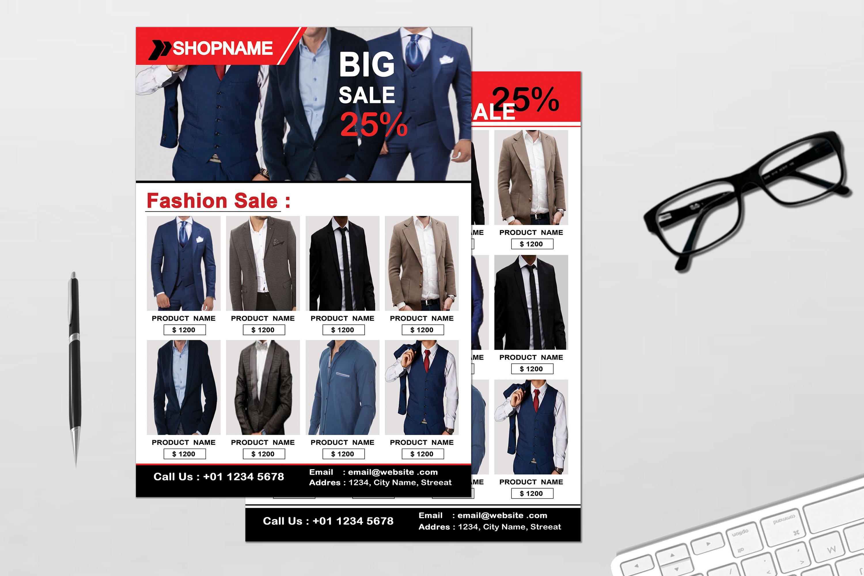 Flyer - Fashion example image 5