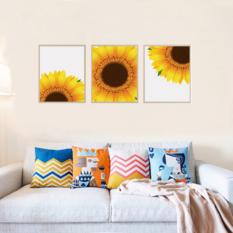 Sunflower Decor, Sunflower Wall Art, Yellow Wall Art example image 4