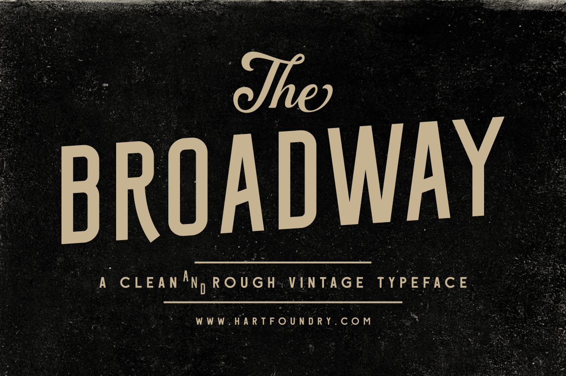 Broadway | Font Pack example image 3