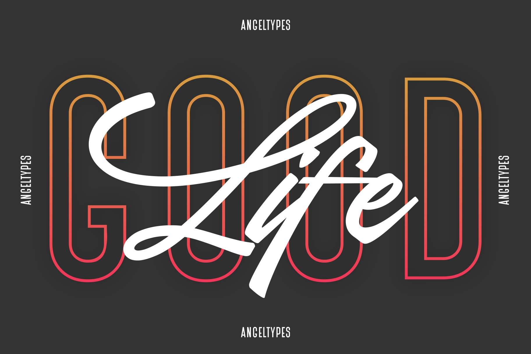 Angeltypes Dual Font example image 2