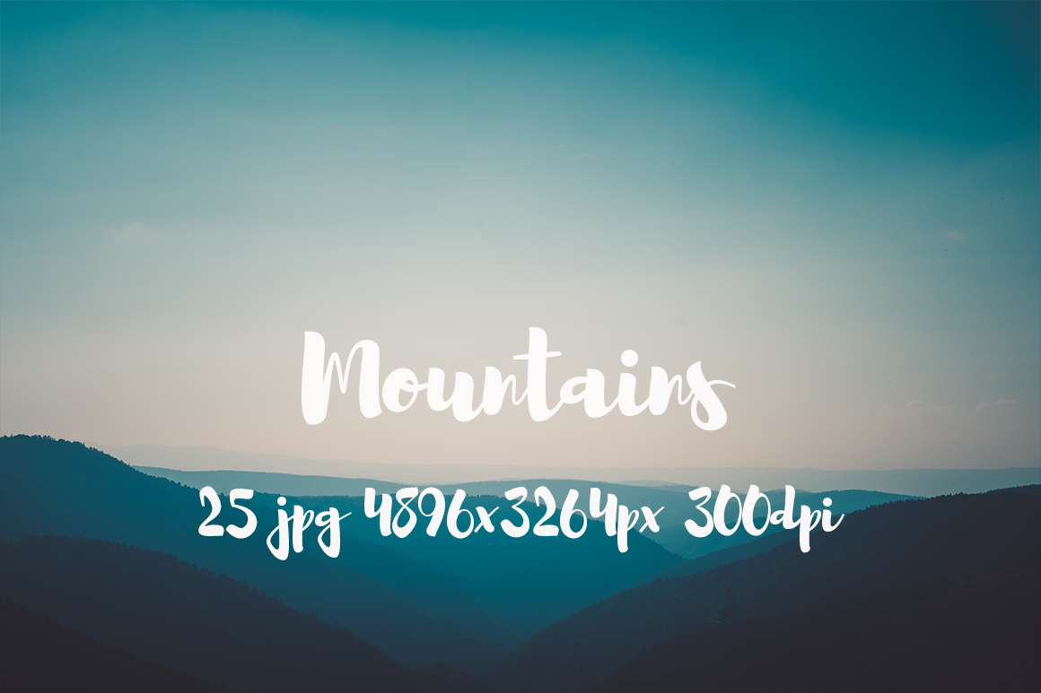 Mountains Pack example image 4