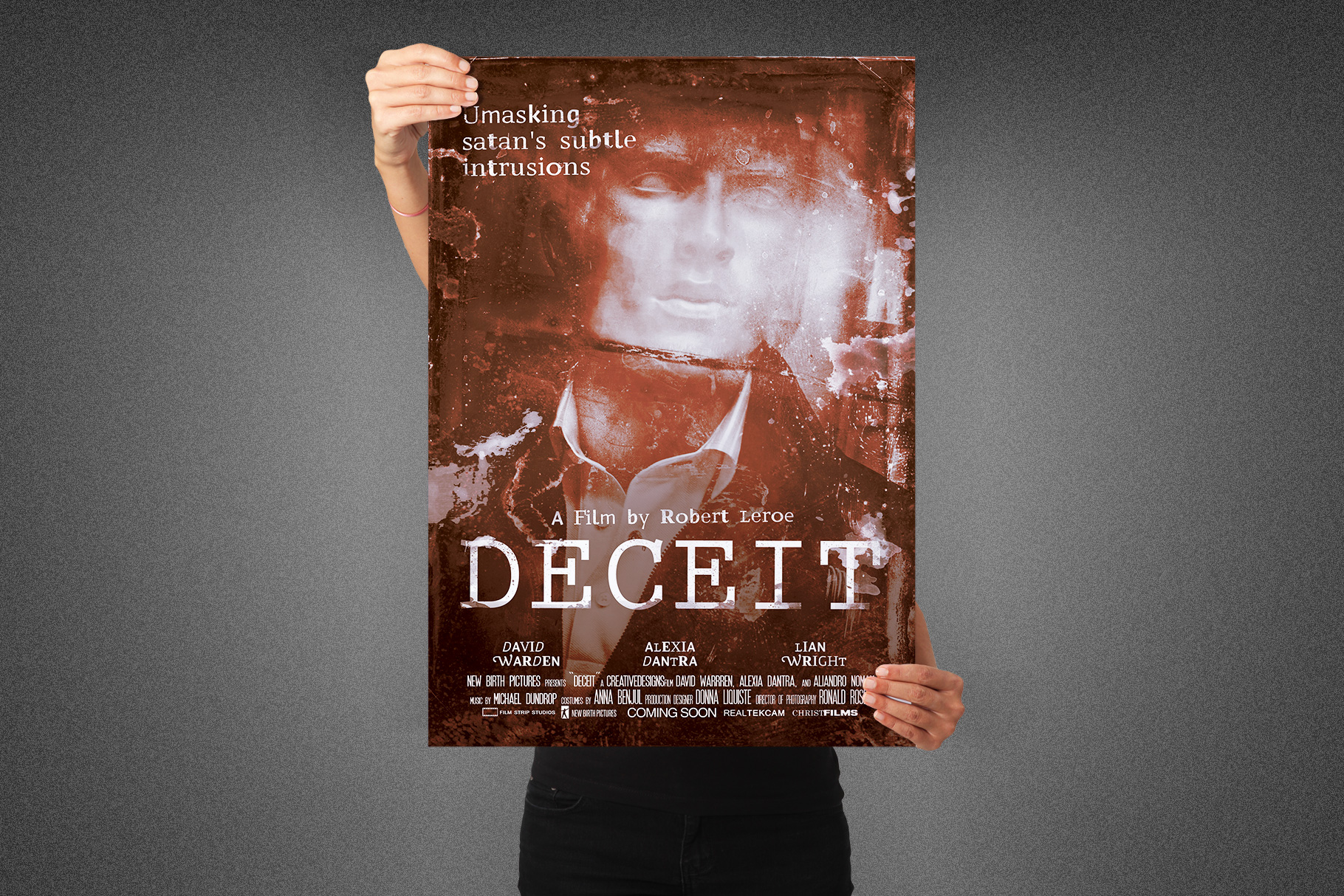 Deceit Movie Poster Template example image 2