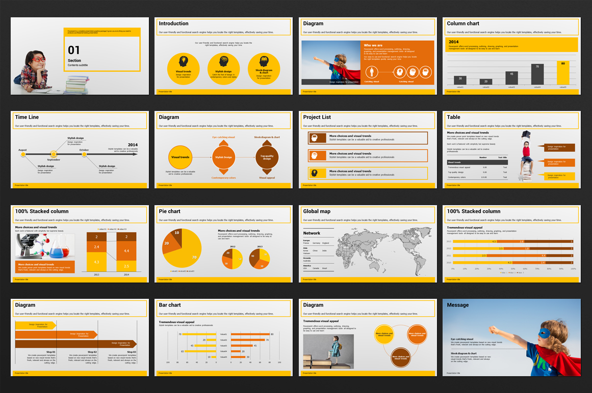 Education PowerPoint Template example image 4