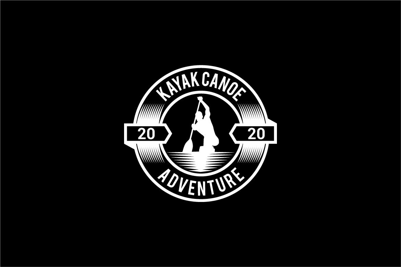 kayak canoe logo example image 3