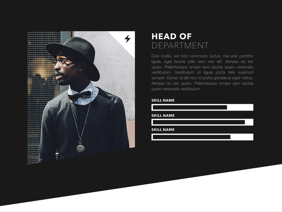 Fashion Edge PowerPoint Template example image 8