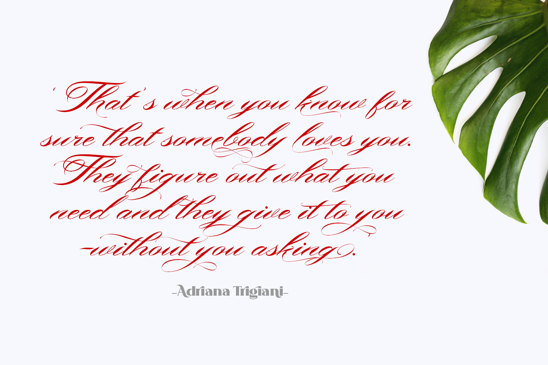 Bonthing Calligraphy example image 2