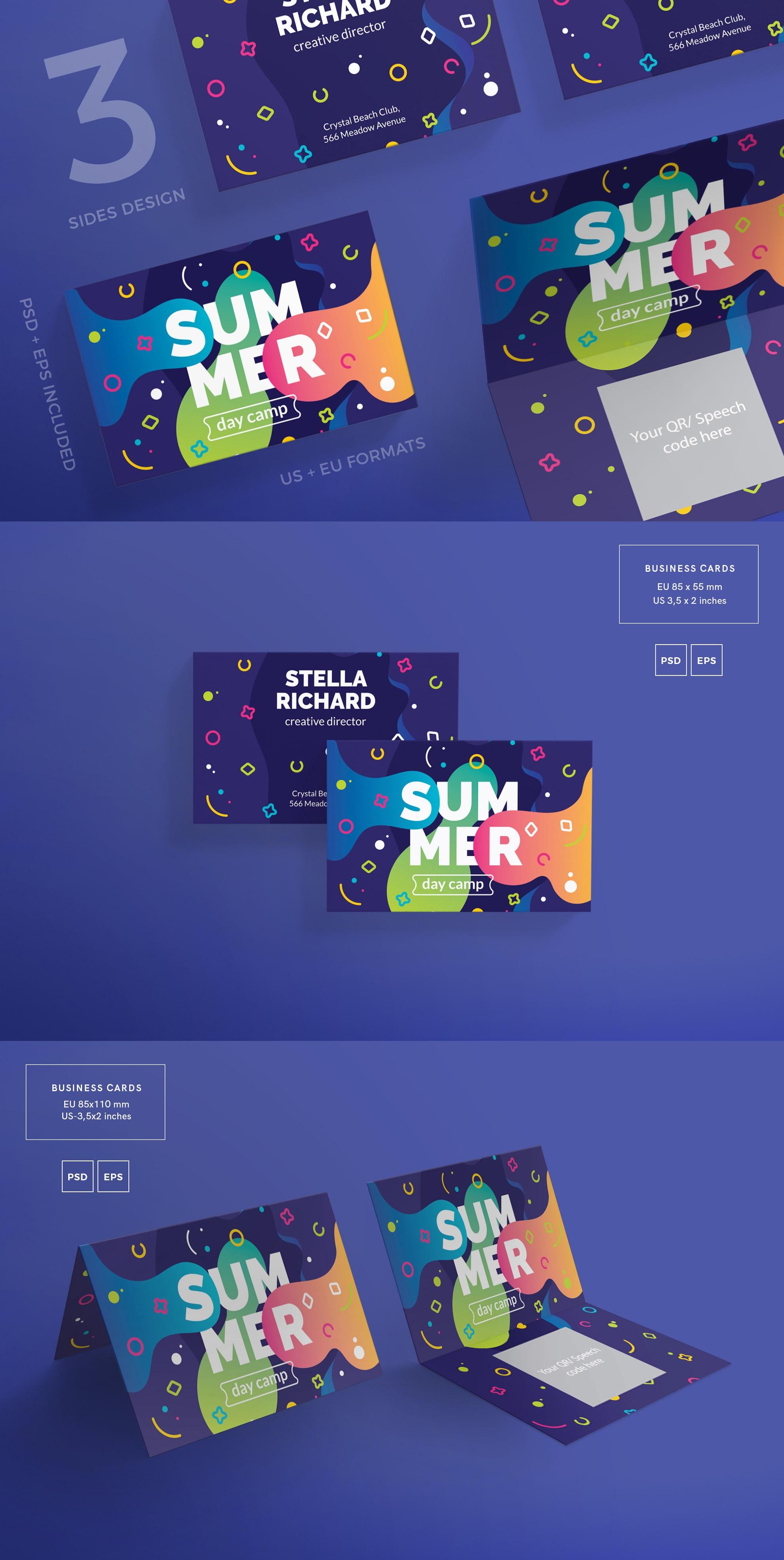 Business Card Design Templates Bundle SALE example image 8