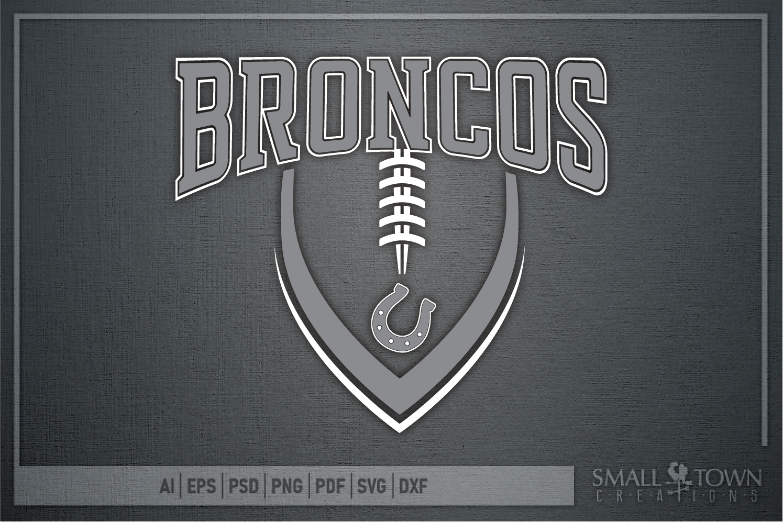 Bronco, Broncos Football, Team, Sport, PRINT, CUT & DESIGN example image 5