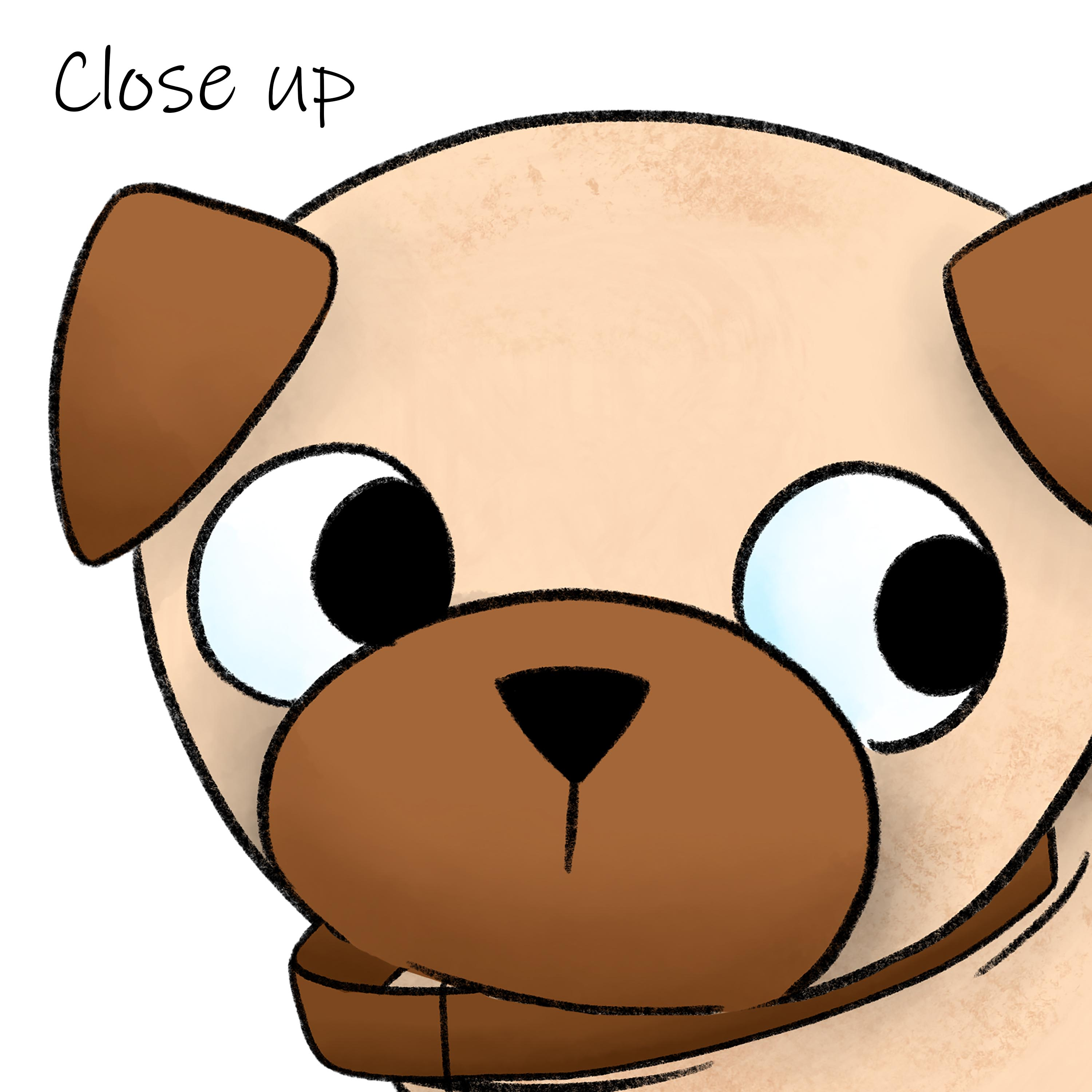Pug clipart example image 5