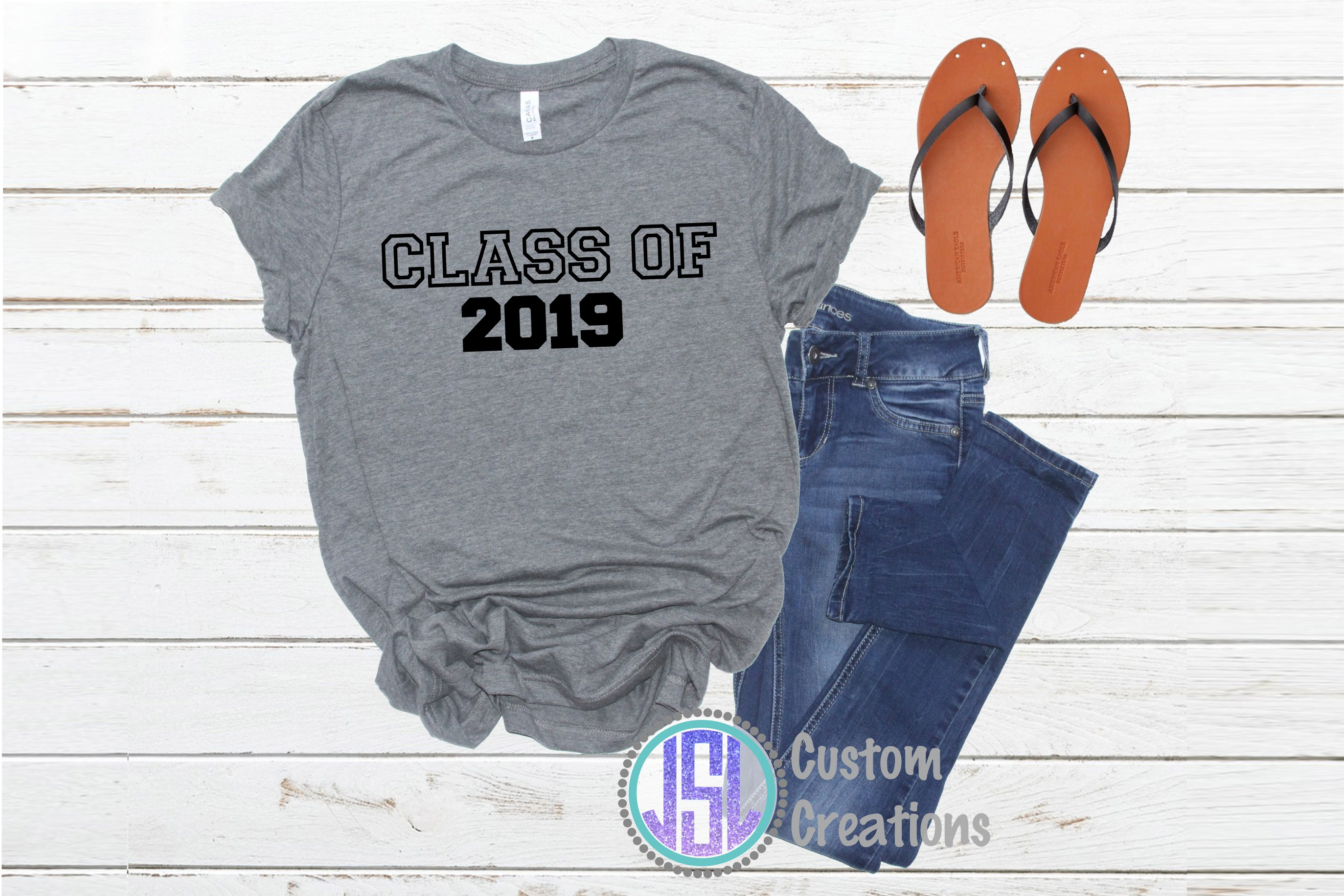 Class of 2019 Graduation| Bundle Set of 6 | SVG DXF EPS PNG example image 3