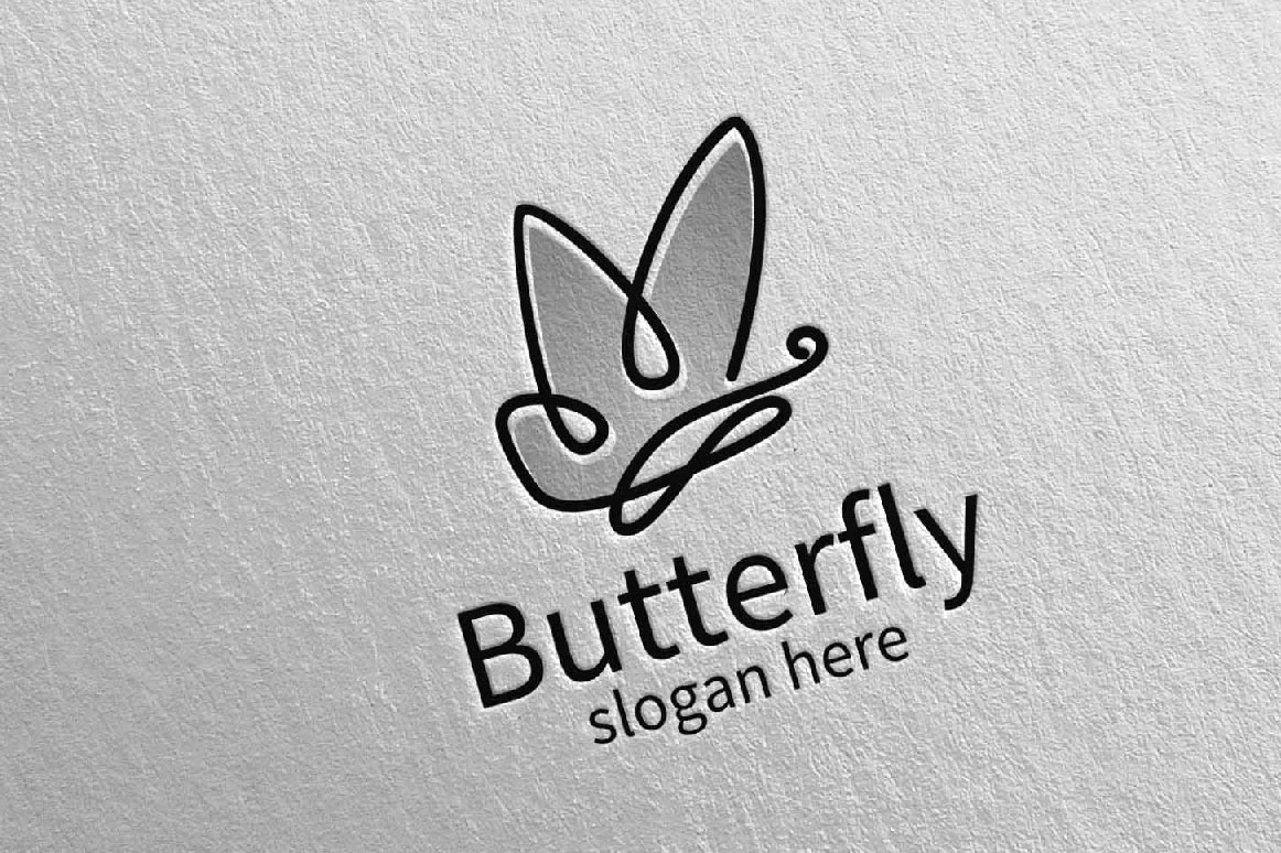 Butterfly Logo vol 15 example image 5