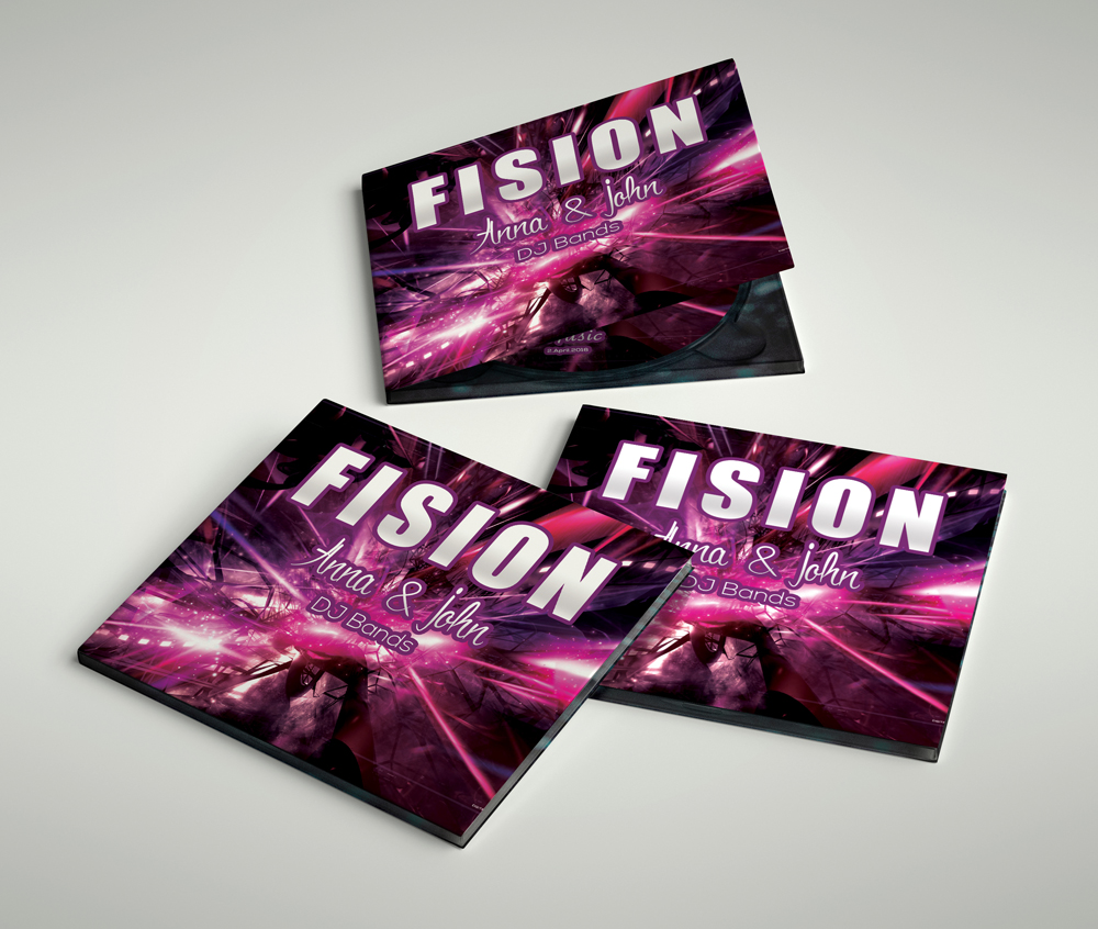 CD Covers Template example image 3