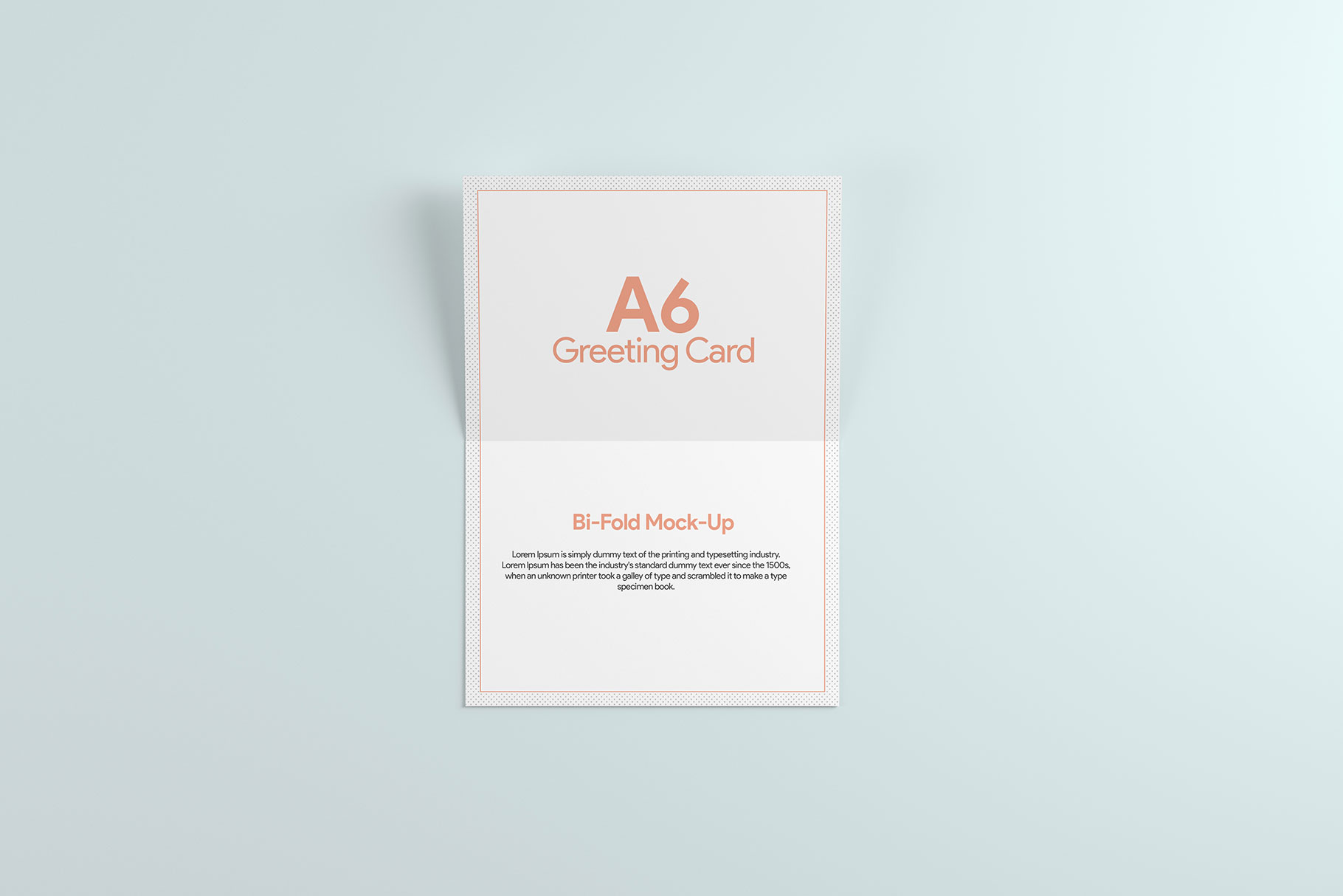 A6 Greeting Card Invitation X2 example image 9