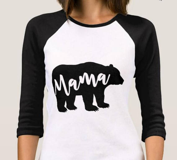 Mama bear and Baby bear SVG - Baby Bear svg - Mama Bear svg example image 3