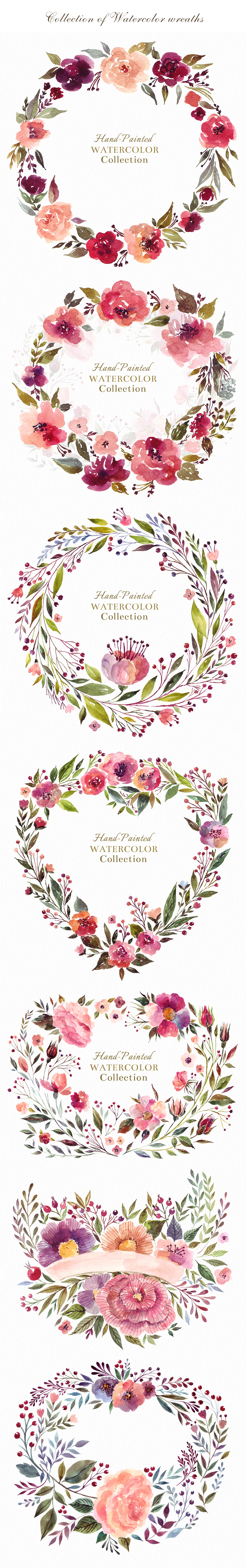 230 Watercolor graphic elements example image 6