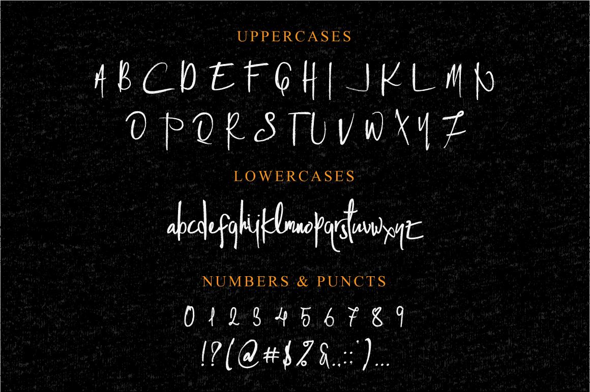 Cashy Allen Typeface example image 4