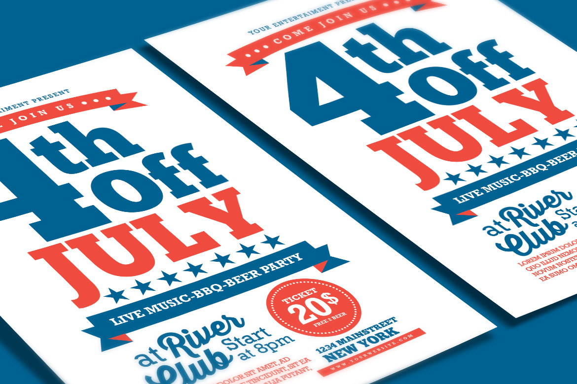 4th Of July Flyer example image 4