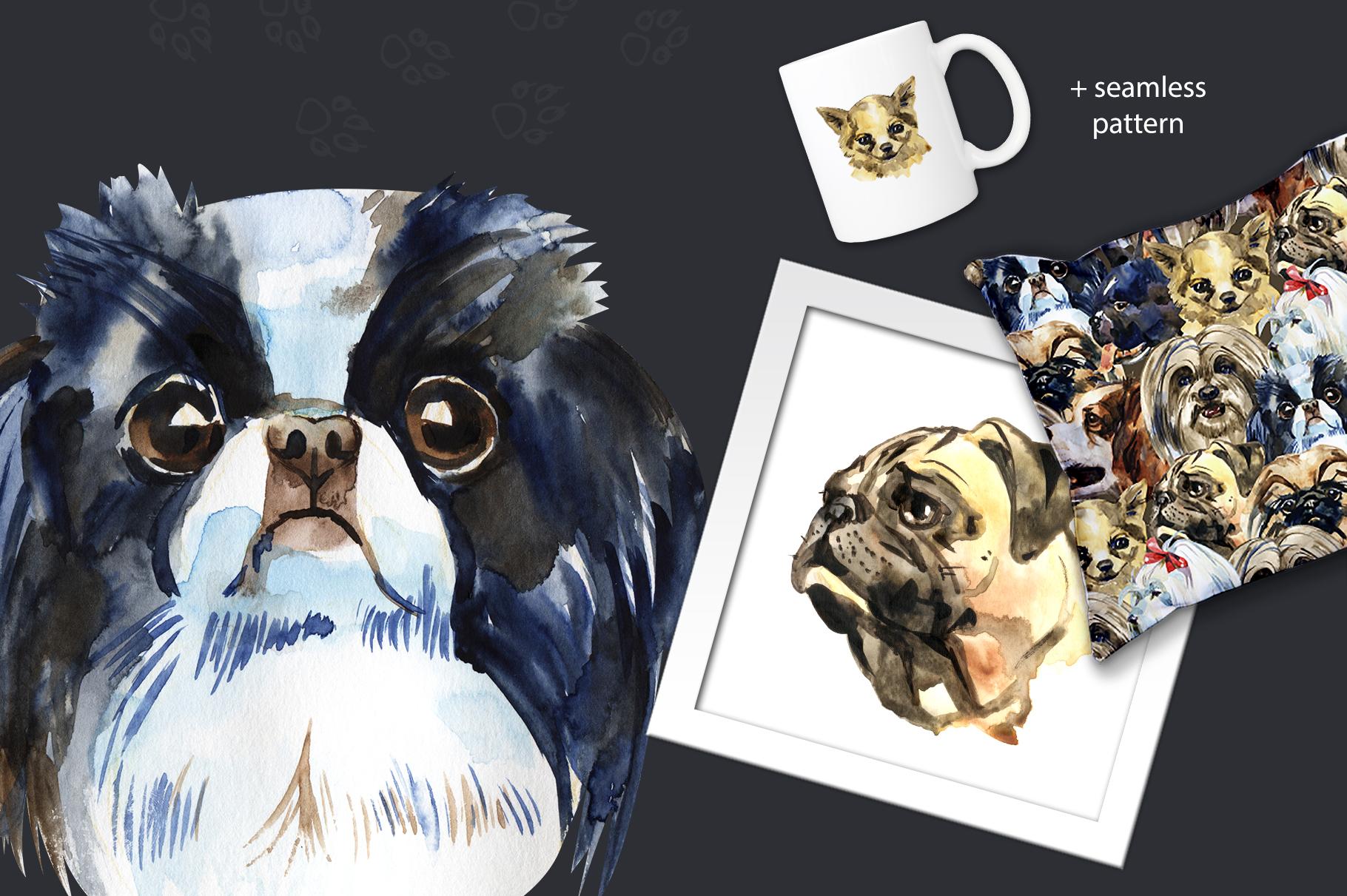 Decorative dogs set example image 3