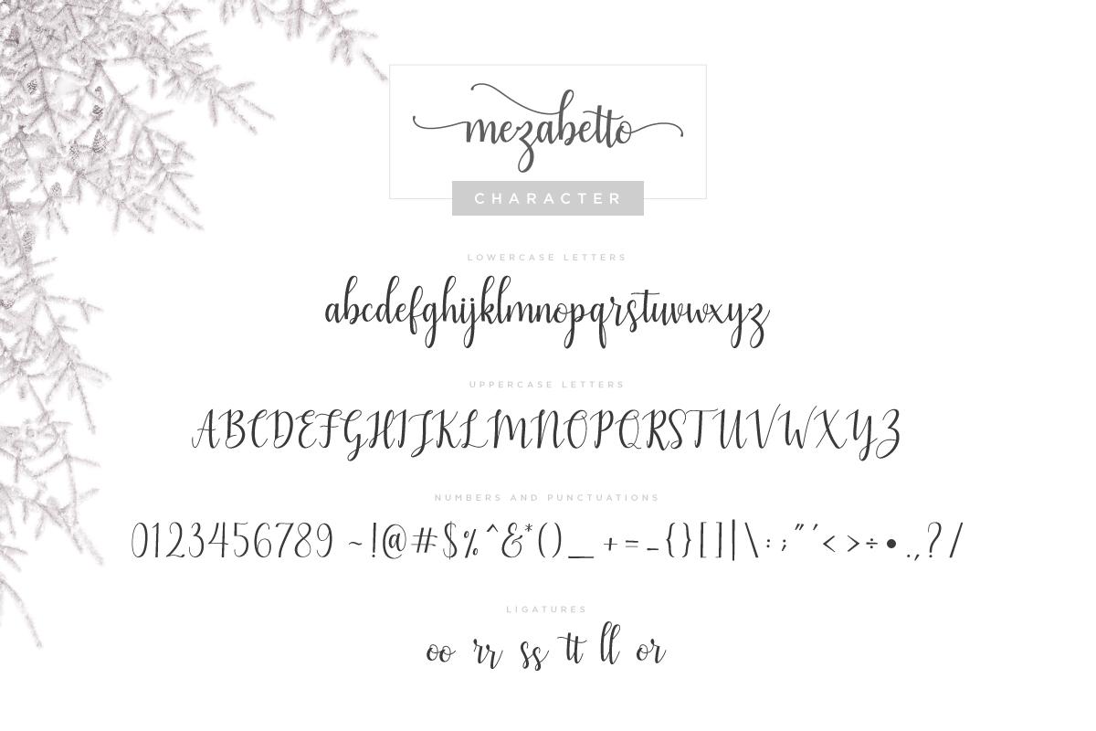 Mezabetto | Elegant Script Font example image 6