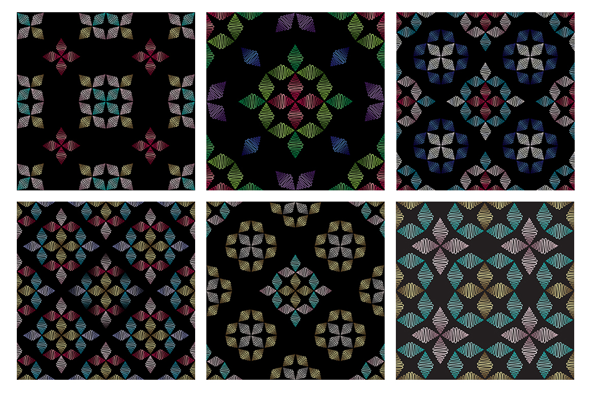 55 ornaments patterns collection example image 10