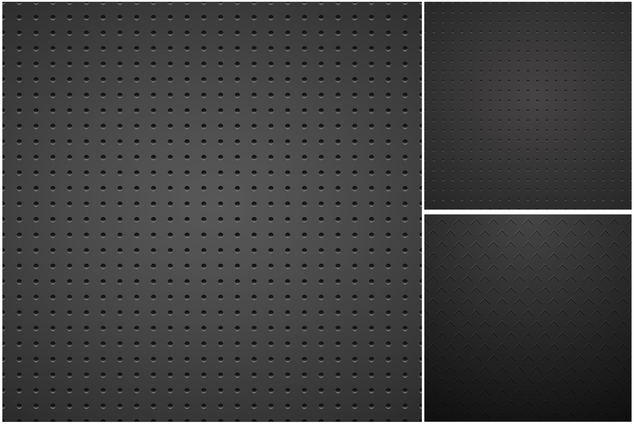 Metallic dark textures with holes. example image 6