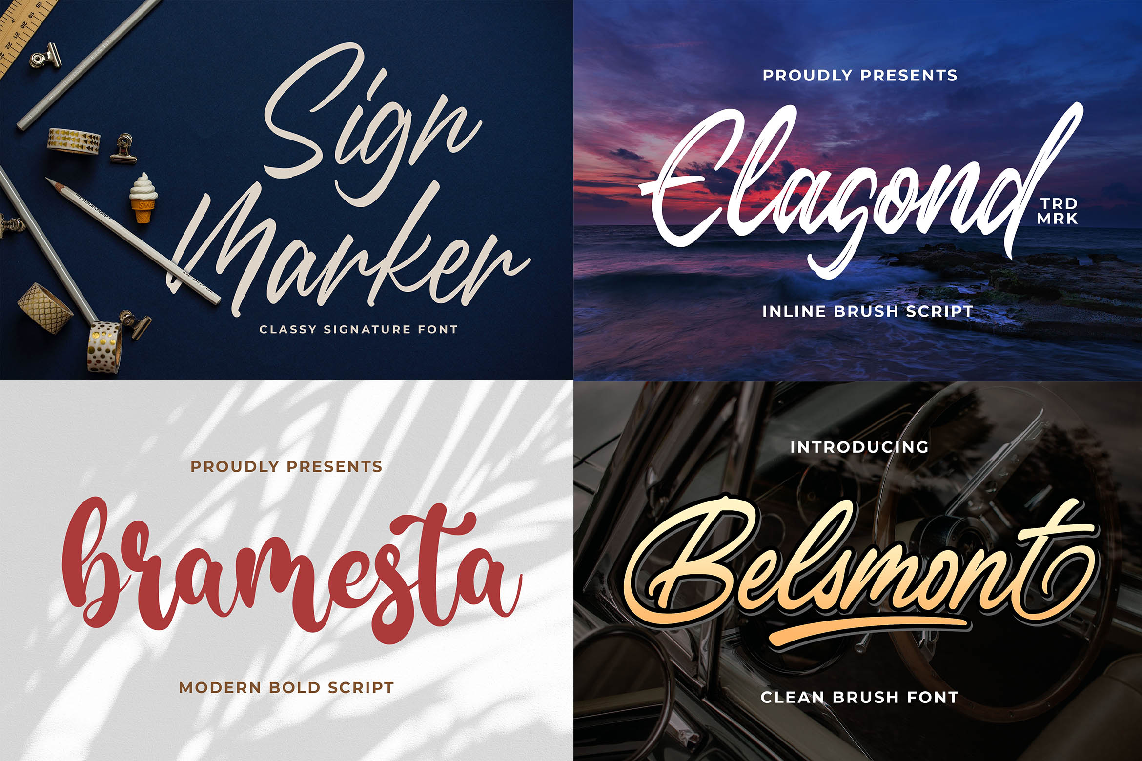 New Year Big Bundle - Crafting Fonts Collection example image 18