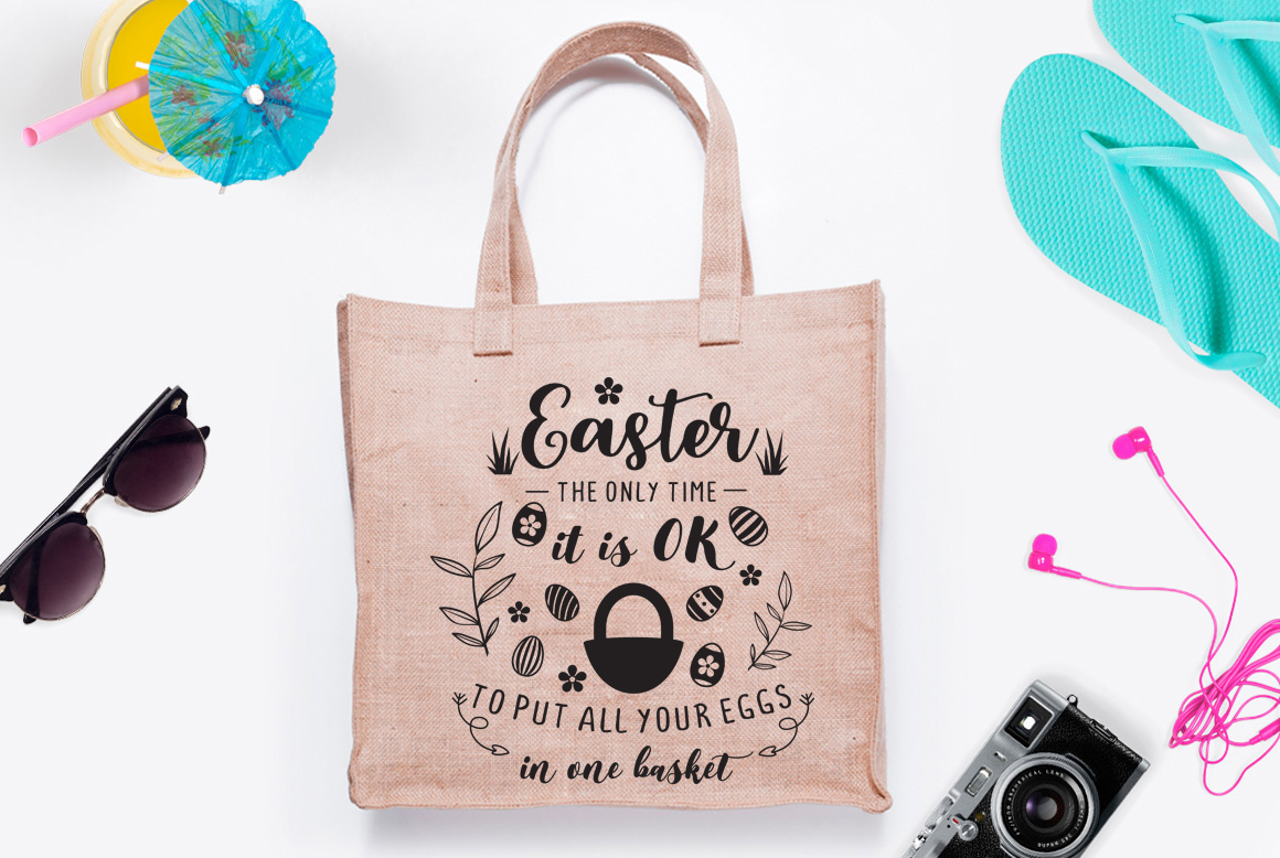 Easter Quote Cutting File example image 1