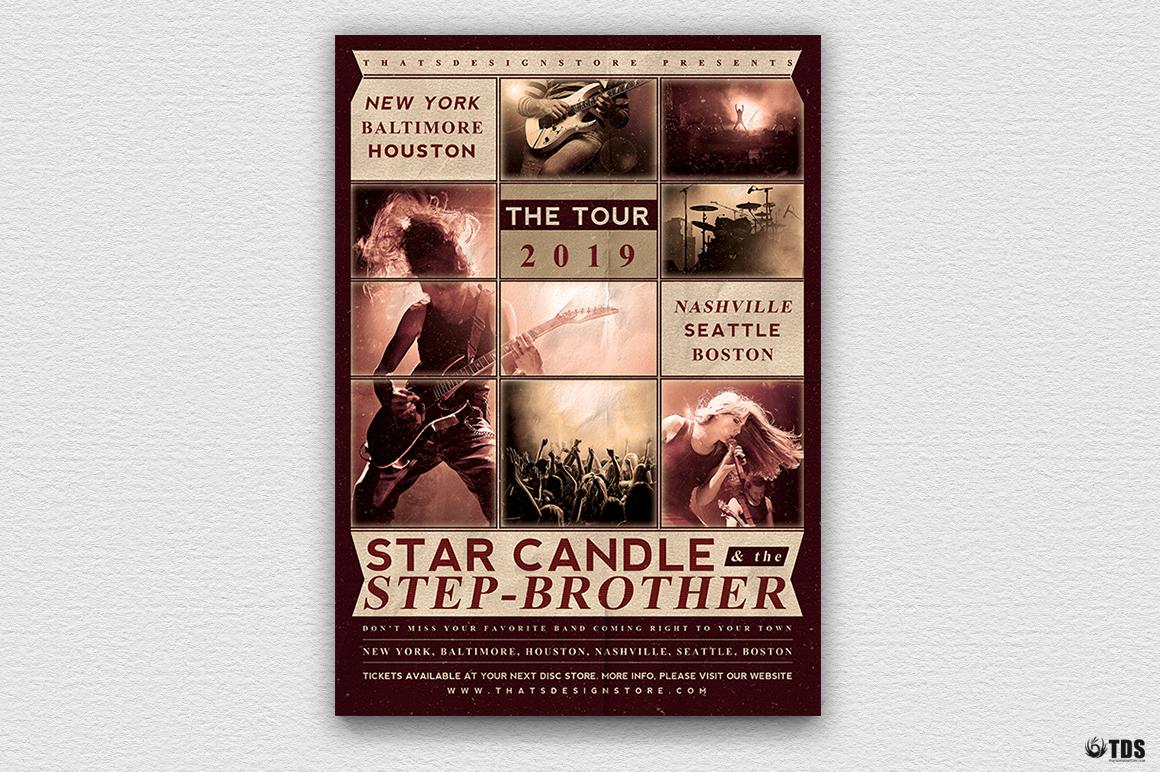 Live Band Flyer Bundle V2 example image 3