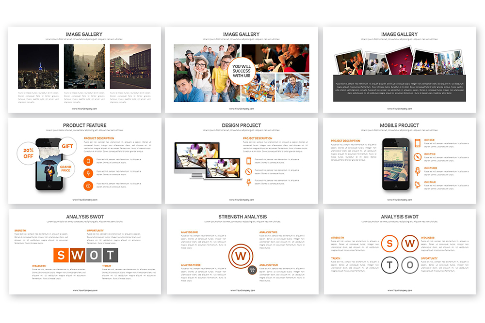 Grand PowerPoint Template example image 5