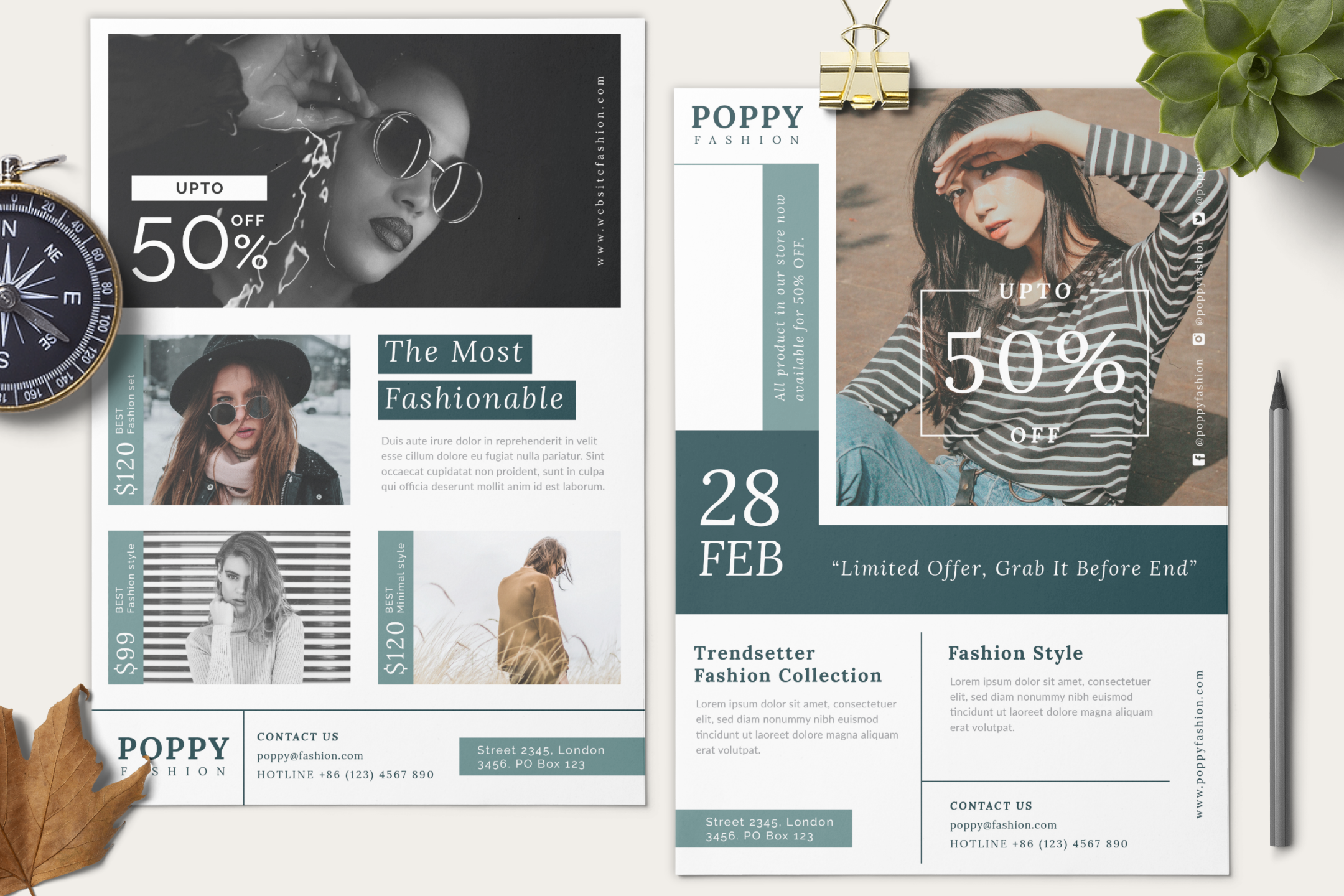 Poppy - Fashion flyer example image 11