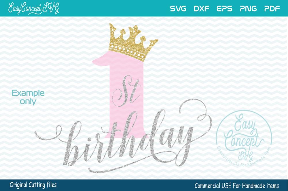 first birthday, 1st birthday example image 1