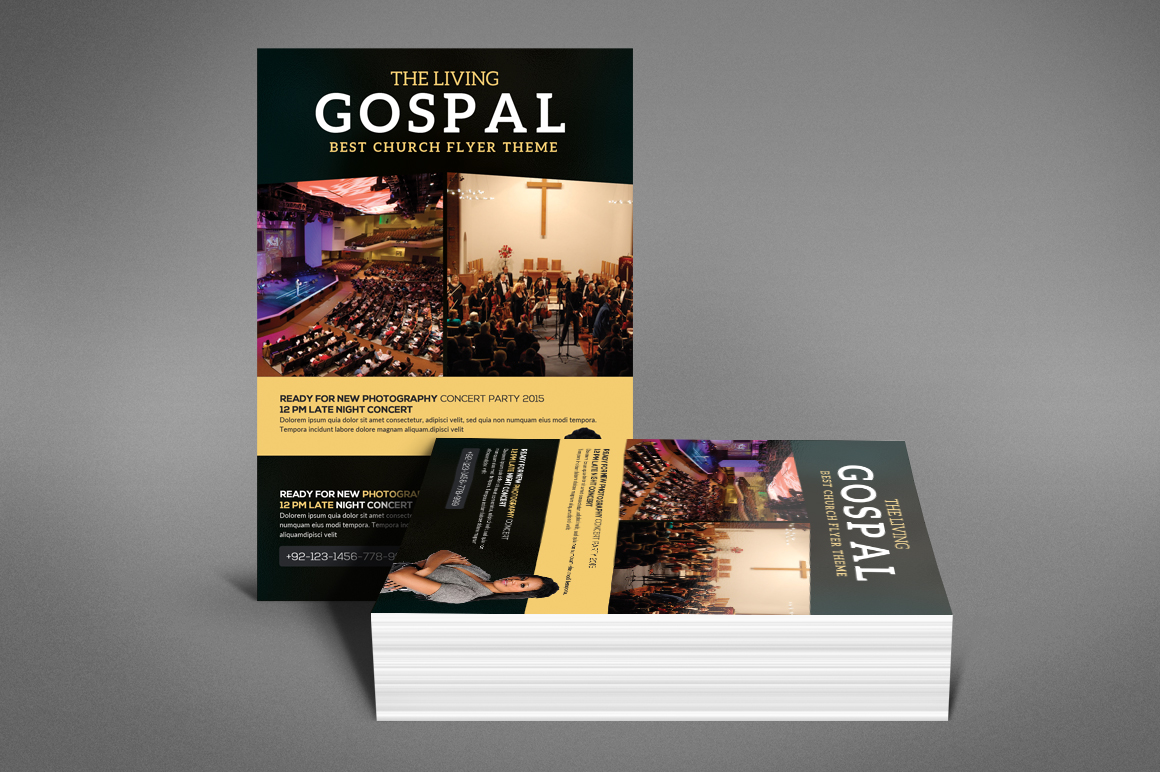 The Living Gospel Flyer example image 4