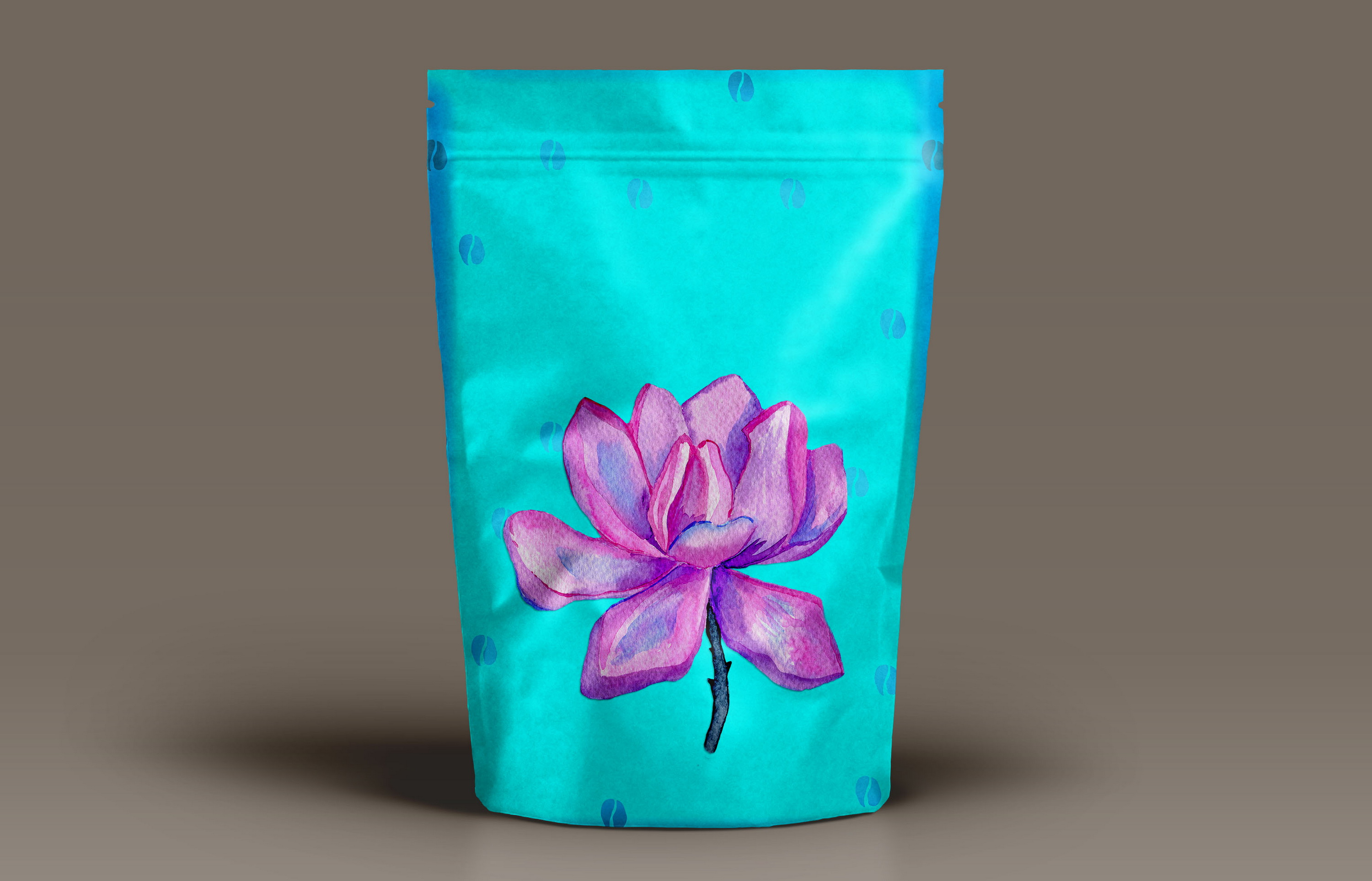 Watercolor Magnolia Flower - PNG Sublimation Design example image 5