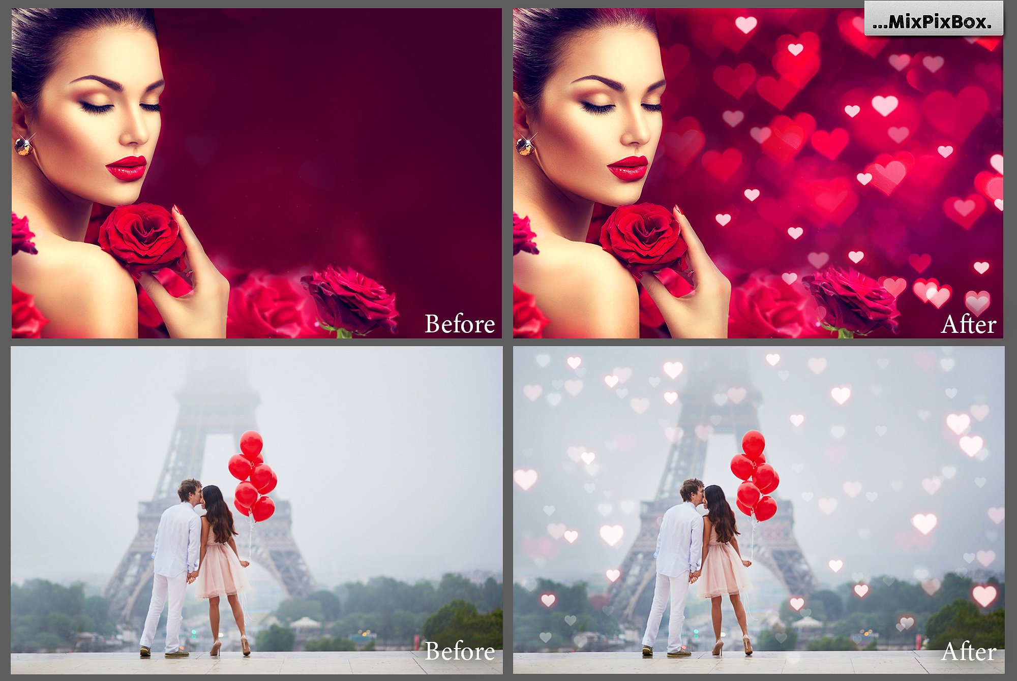 Romantic Bokeh Photo Overlays example image 5