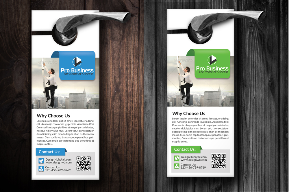 Business Motivation Door Hangers example image 2