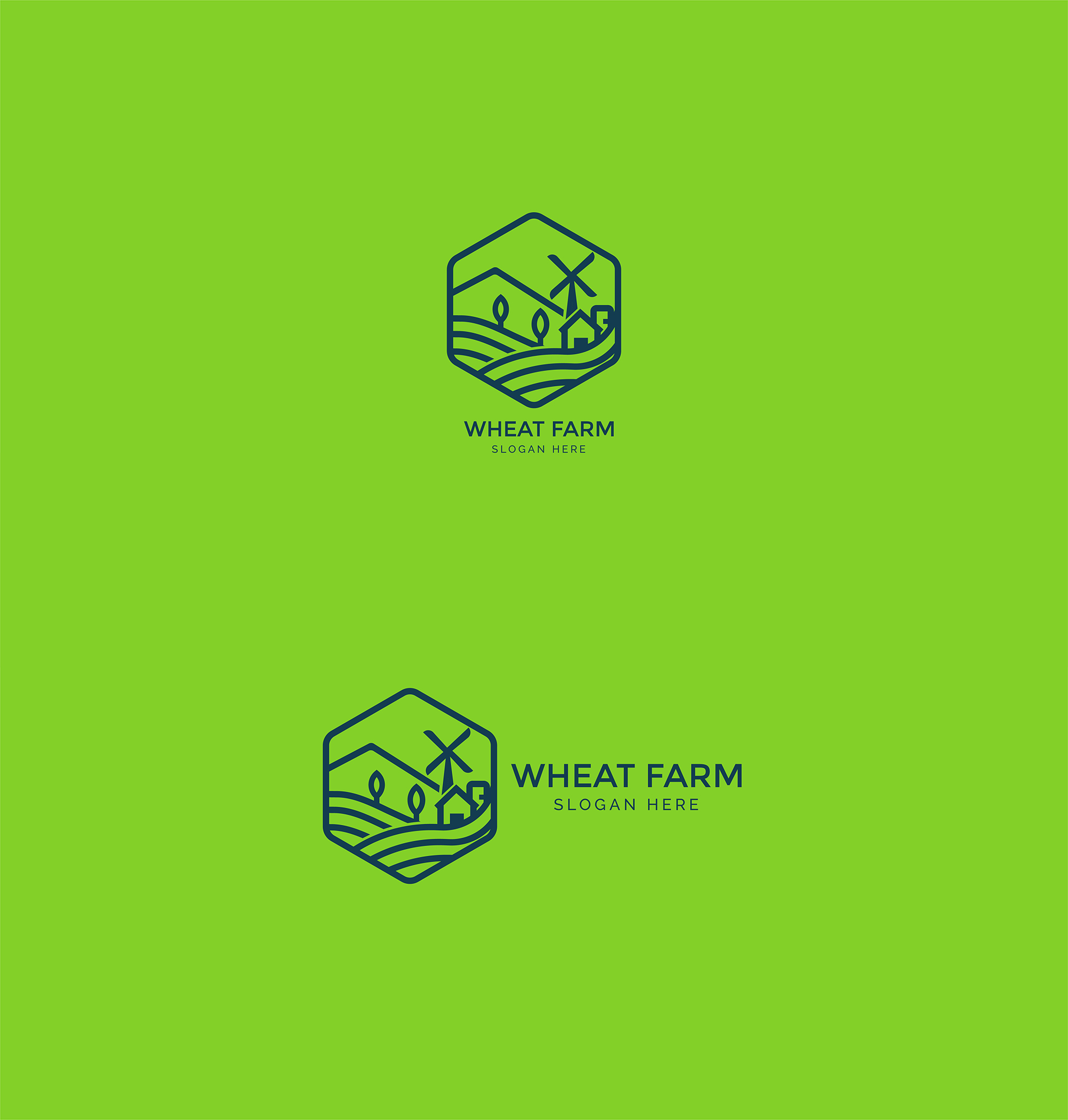 Agriculture - Wheat Farm Logo example image 7